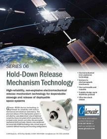 Hold down release mechanism technology