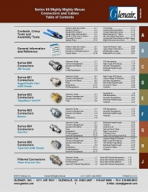 Mighty mouse connectors and cables - catalog