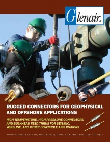 Rugged connectors for geophysical and offshore applications